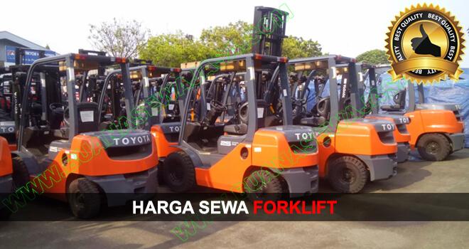HARGA SEWA ALAT BERAT   Rental Forklift Murah   JUNI 2019