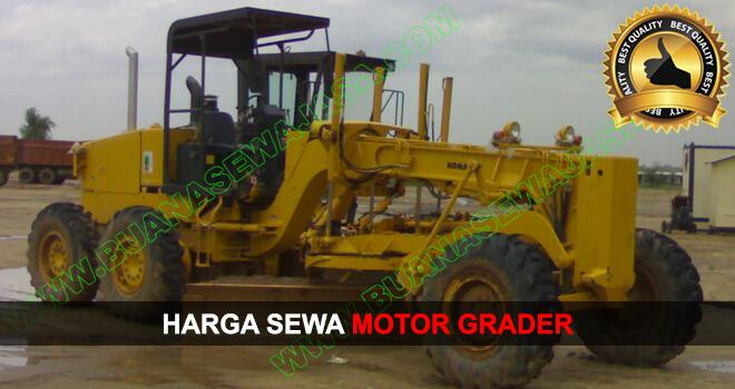 Sewa Rental Motor Grader Murah November Desember 2019