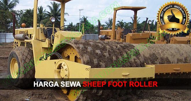 Sewa   Rental Sheep Foot Roller Murah