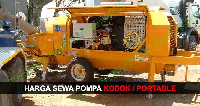 Sewa Pompa Kodok / Portabel