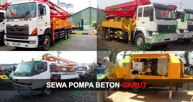 SEWA POMPA BETON | RENTAL CONCRETE PUMP | GARUT